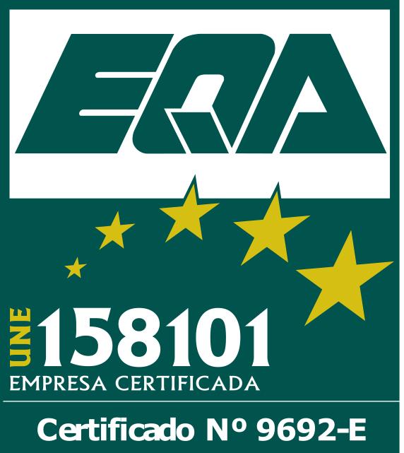 Certificación Sistema de Gestión UNE 158101:2015