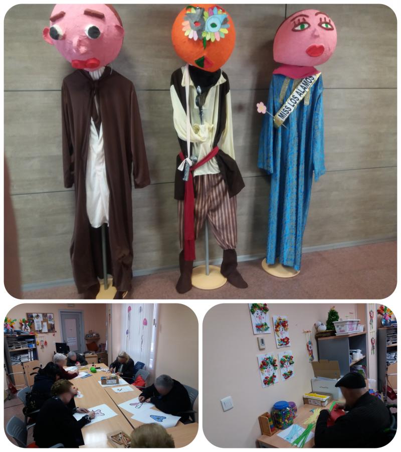 Febrero en Residencia Los Álamos - Jueves Lardero y Carnaval