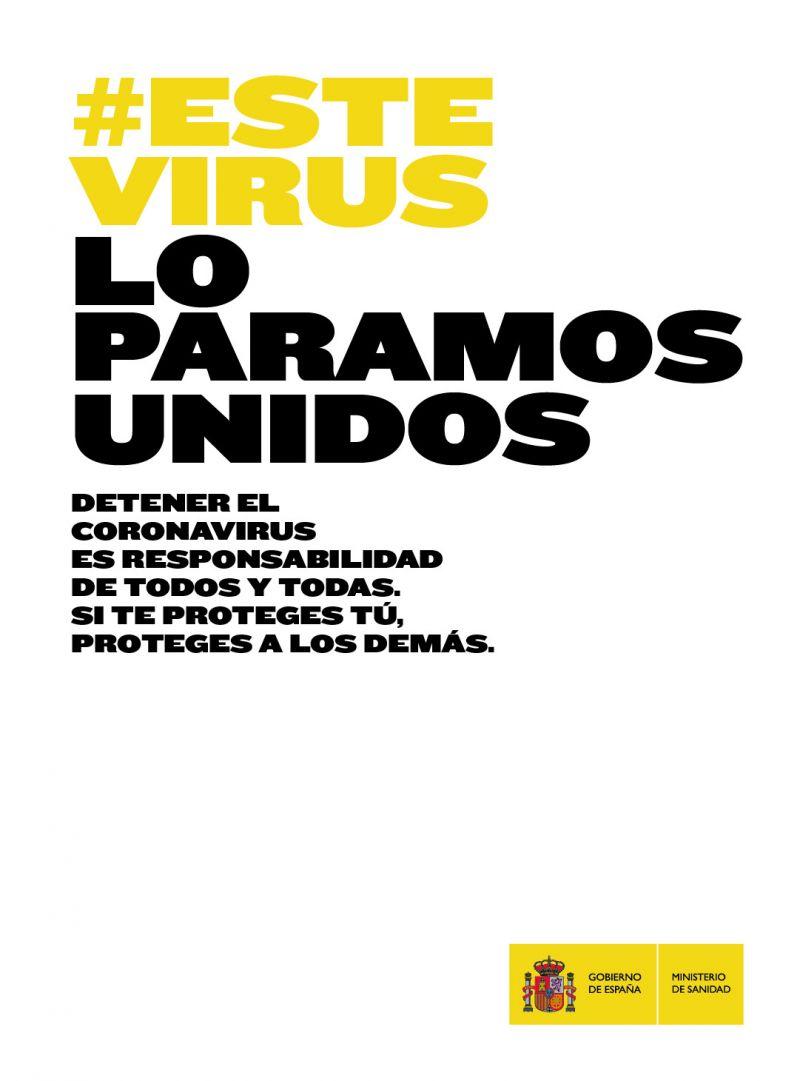#Éste virus lo paramos unidos